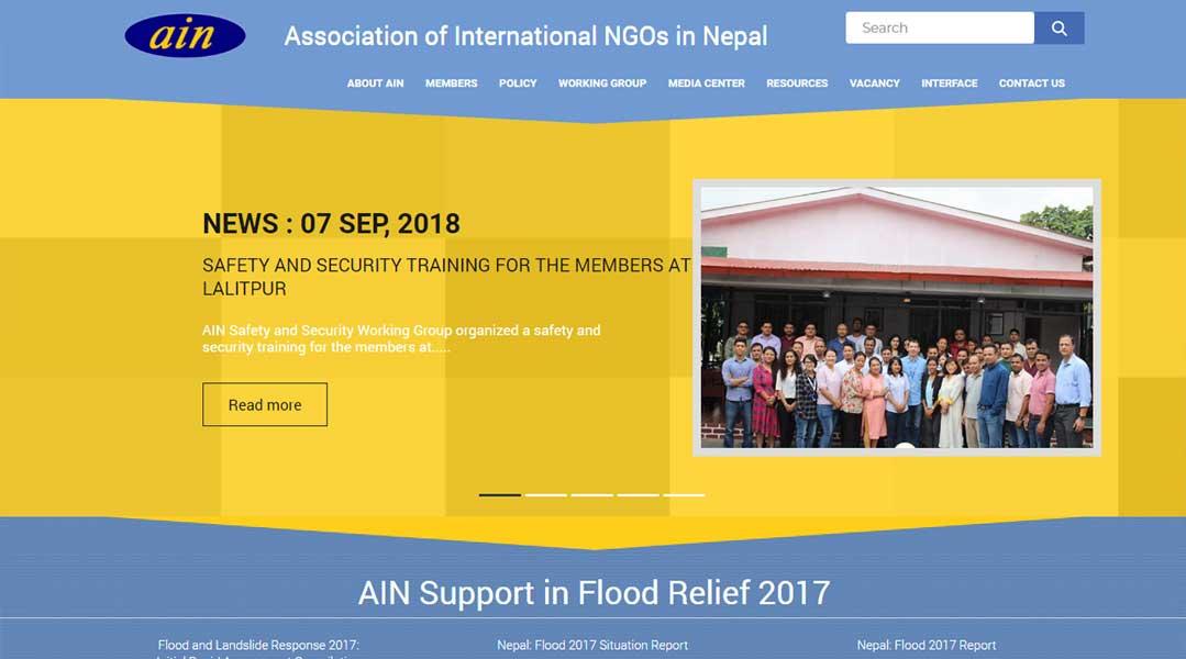 Association of International NGOs in Nepal