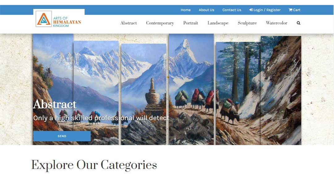 Arts of Himalayan Kingdom